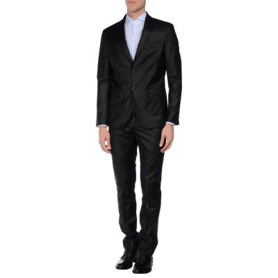 ASFALTO スーツ ブラック 52 ポリエステル 65% / レーヨン 35% スーツ