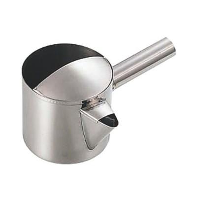 鉄板焼き用品 厨房用品 / 18-0粉ツギ 小 寸法: Φ115 x H90mm 約800cc
