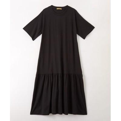 裾ティアードワンピース (ワンピース)Dress