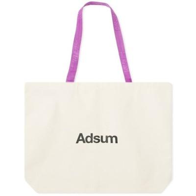 アドサム Adsum メンズ トートバッグ キャンバストート バッグ Heavyweight Canvas Tote Bag Grape