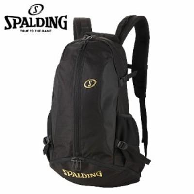 スポルディング SPALDING  リュックサック/ ケイジャー ゴールド  40-007GD バスケット バックパック 32L 移動 部活