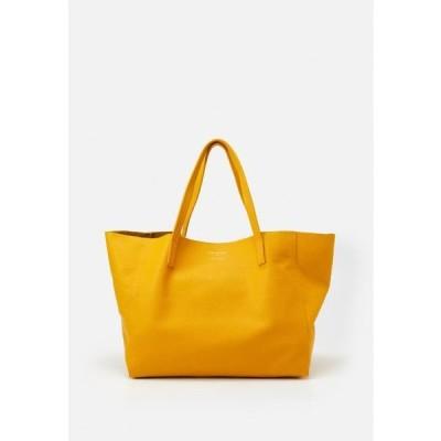 レディース アクセサリー VIOLET HORIZONTAL TOTE - Tote bag - mustard
