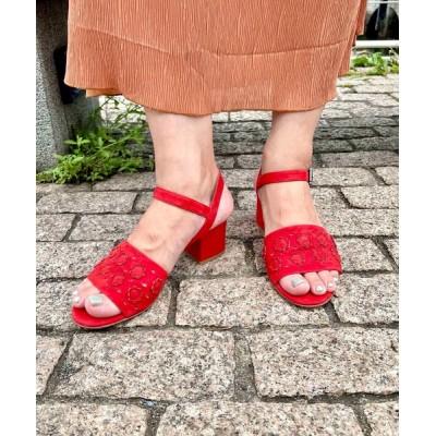 Styles / PASCUCCI CAMOSCIO ROSSO WOMEN シューズ > サンダル