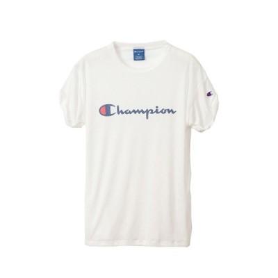 チャンピオン Champion ウィメンズ ロールアップスリーブTシャツ CW-RS310-010  セール アウトレット
