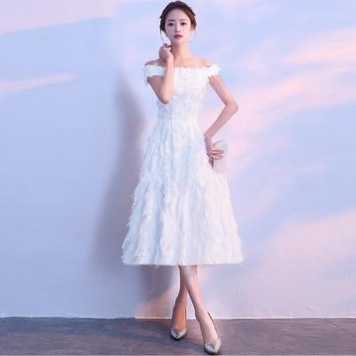 パーティードレス カラードレス ウエディング ロングドレス 白 結婚式 二次会 花嫁 演奏会 大きいサイズ 3L 小さいサイズ スレンダーライン ハイウエスト