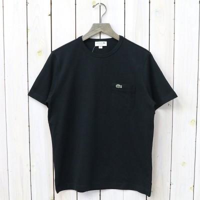 レギュラーフィット クロコエンブレムクルーネックポケットTシャツ TH633EM