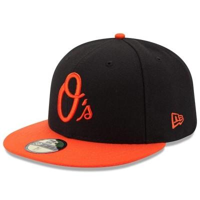 オリオールズ キャップ ニューエラ NEW ERA  MLB オーセンティック オンフィールド 59FIFTY オルタネート【平つば キャップ 特集】