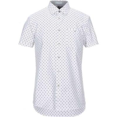 テッドベーカー TED BAKER メンズ シャツ トップス patterned shirt White