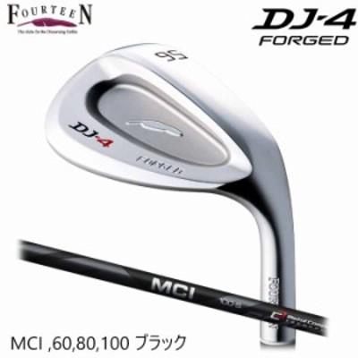 【メーカーカスタム】FOURTEEN フォーティーン DJ-4 ウェッジ MCI 60 80 100 Black