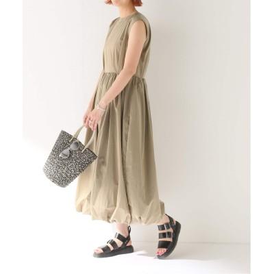 レディース ボイスフロムベイクルーズ 【KENJI HIKINO】NYLON TUCJED DRESS ベージュ フリー