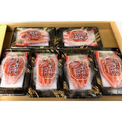 辛子 明太子 80g ×6パック(旨だれ付き)【老舗かねふく】こだわりの熟成製法、あったかいご飯・おにぎり・パスタにおすすめです【冷凍便】