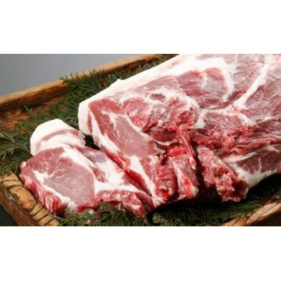 黒豚肩ロースステーキセット(約1.2kg:桑水流畜産)