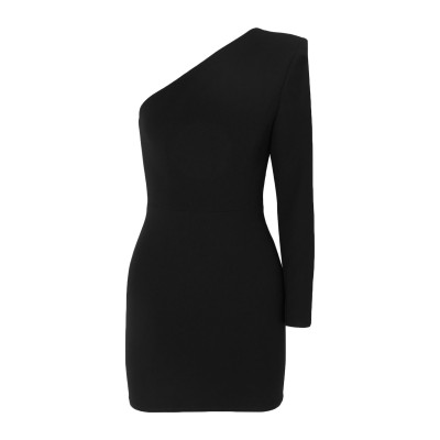 ALEX PERRY ミニワンピース&ドレス ブラック 10 トリアセテート 60% / ポリエステル 40% ミニワンピース&ドレス