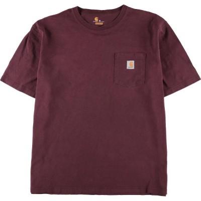 カーハート Carhartt ORIGINAL FIT 半袖 ポケットTシャツ メンズXL /eaa134053