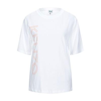 ケンゾー KENZO T シャツ ホワイト M コットン 100% T シャツ