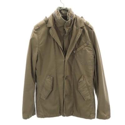 ジースターロウ ジャケット M ブラウン G-STAR RAW メンズ 古着 210226