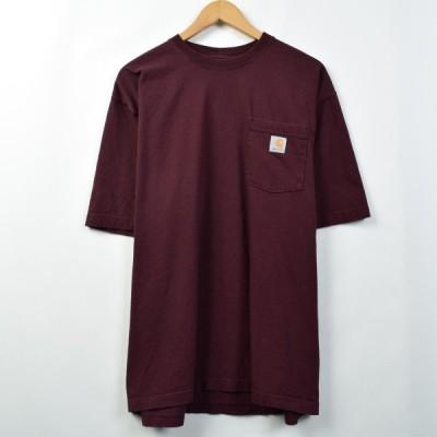 カーハート ワンポイントロゴポケットTシャツ L /eaa039107