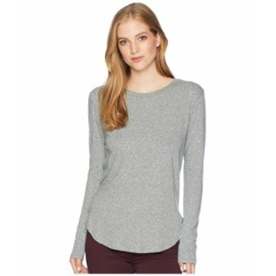 LNA エルエヌエー 服 一般 Essential Tri-Blend Long Sleeve Crew Neck
