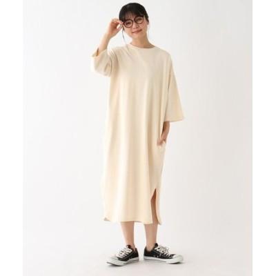 【WEB限定】ラウンドヘムカットワンピース