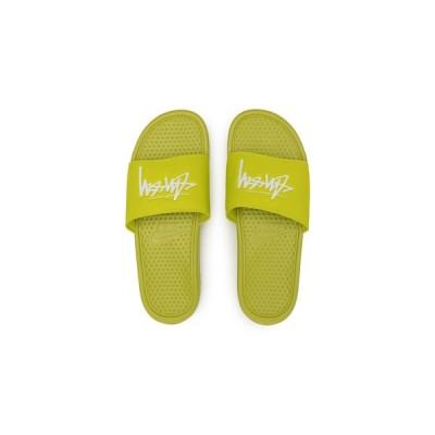 ステューシー×ナイキ べナッシ スライド サンダル ボルト Stussy × Nike Benassi Slide Sandal Volt 正規品 全国送料無料