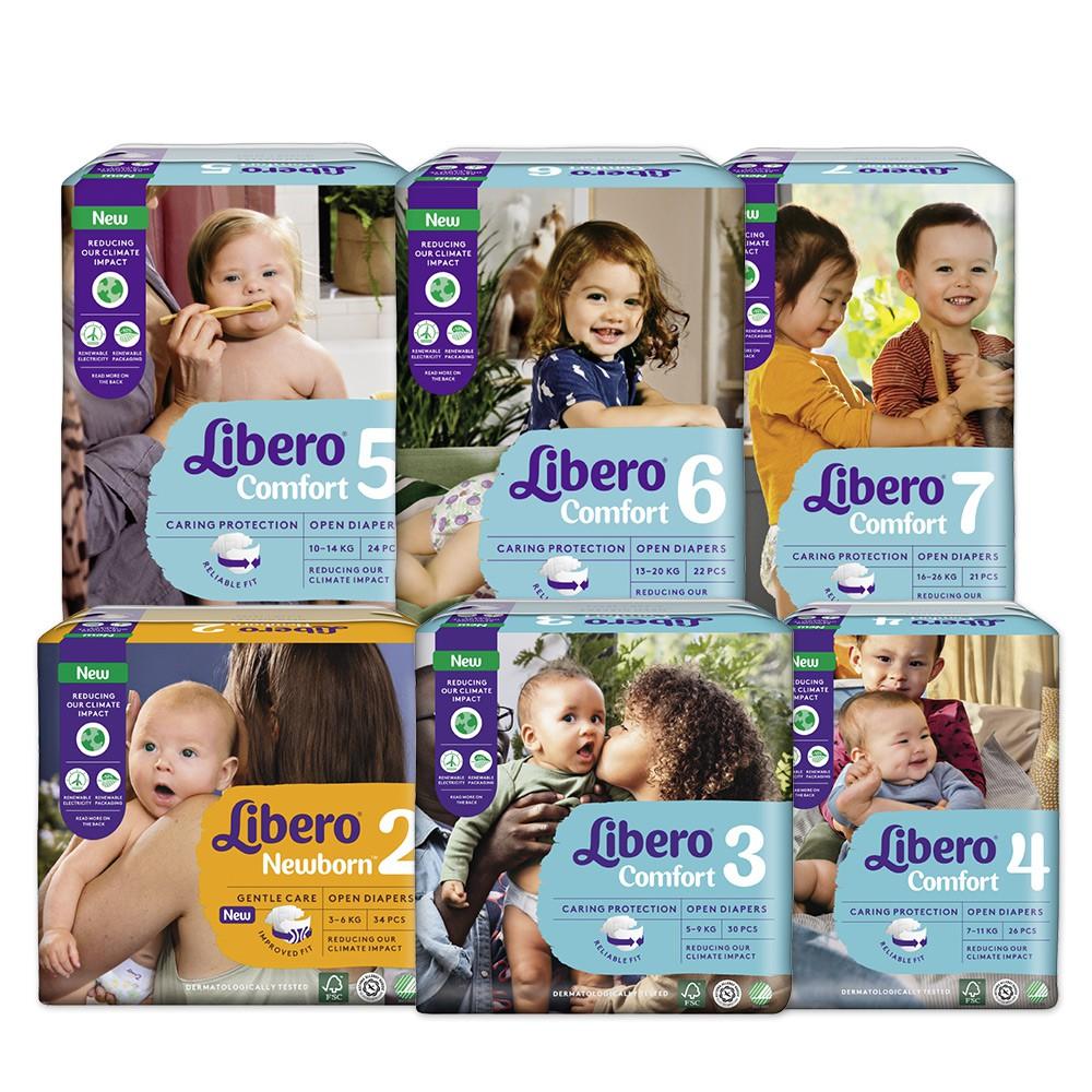 麗貝樂Comfort 嬰兒紙尿褲(2 3 4 5 6 7 號 )箱購 【箱購滿額送贈品,送完為止】