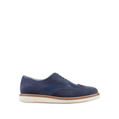 サルヴァトーレ フェラガモ SALVATORE FERRAGAMO メンズ シューズ・靴 laced shoes Dark blue