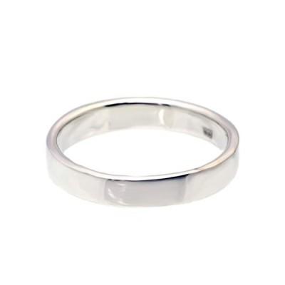 STERLING SILVER 925シルバー リング 指輪 シンプル ペア ユニセックス ;AMTHRI-020-13