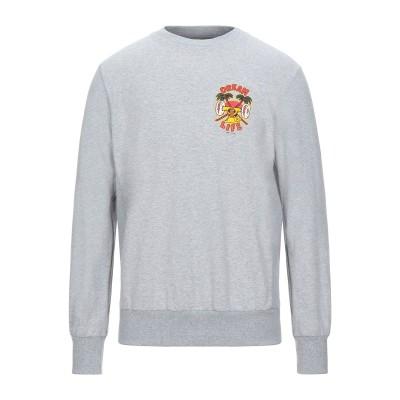 SHOESHINE スウェットシャツ グレー M コットン 100% スウェットシャツ