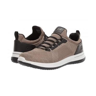SKECHERS スケッチャーズ メンズ 男性用 シューズ 靴 スニーカー 運動靴 Delson Brewton - Tan