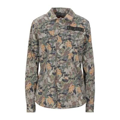 TOP GUN® シャツ ミリタリーグリーン S コットン 97% / ポリウレタン 3% シャツ