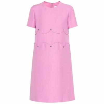 ヴァレンティノ Valentino レディース ワンピース ワンピース・ドレス Wool and silk dress Absolute Rose