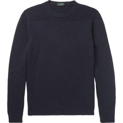 ザノーネ ZANONE メンズ ニット・セーター トップス sweater Dark blue