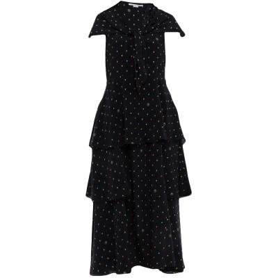 ステラ マッカートニー STELLA McCARTNEY ロングワンピース&ドレス ダークブルー 40 シルク 100% ロングワンピース&ドレス