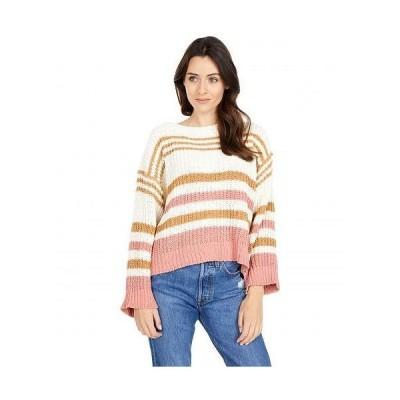 Rip Curl リップカール レディース 女性用 ファッション セーター Road Side Sweater - Bone