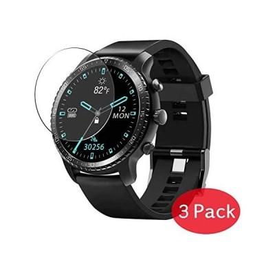 3枚 VacFun TINWOO T20W T20 1.3 インチ スマートウォッチ smart watch 用 対応