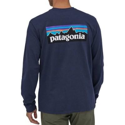 パタゴニア メンズ シャツ トップス Patagonia Men's P-6 Logo Responsibili-Tee Long Sleeve Shirt