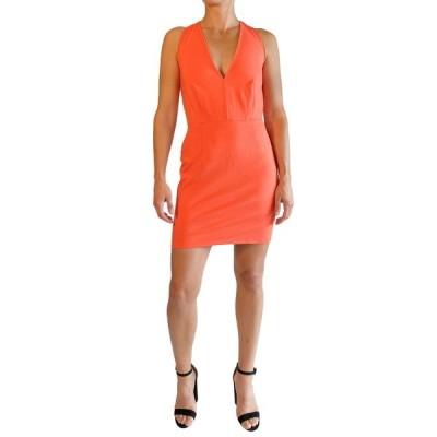 ラブバイデザイン レディース ワンピース トップス Kylie Halter Neck Dress HOT CORAL
