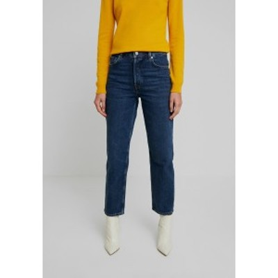 セレクテッドフェム レディース デニムパンツ ボトムス SLFKATE INKY - Straight leg jeans - medium blue denim medium blue denim