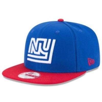 New Era ニュー エラ 帽子 キャップ New Era New York Giants Royal/Red Historic Logo Baycik 9FIFTY Snapback Adjustable H