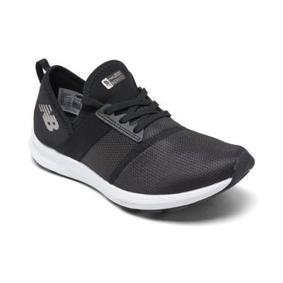 ニューバランス スニーカー シューズ レディース Women's FuelCore NERGIZE Walking Sneakers from Finish Line Black
