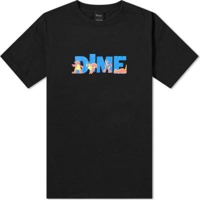 ダイム Dime メンズ Tシャツ トップス Toy Store Tee Black