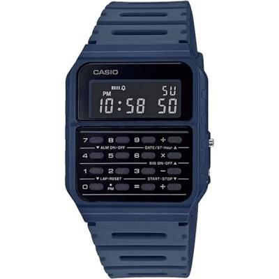 CASIO スタンダード CA-53WF-2B チプカシ DATABANK カリキュレーター マットブルー 反転液晶 電卓 デジタル 腕時計 チープカシオ