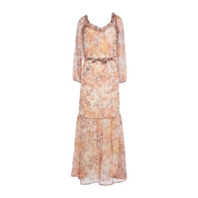 スーベニア SOUVENIR ロングワンピース&ドレス ベージュ S ポリエステル 100% ロングワンピース&ドレス