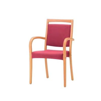 ダイニングチェアー いす イス 椅子 チェアー 肘掛け椅子 アームチェアー 布 木製 シンプル モダン カジュアル ナチュラル ダイニング レストラン 送料無料