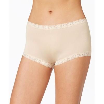 メイデンフォーム Maidenform レディース ショーツのみ インナー・下着 Microfiber Boyshort Underwear 40760 Latte