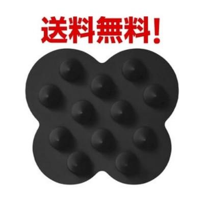 uka(ウカ) スカルプブラシ ケンザン ブラック scalp brush kenzan 送料無料 即日発送