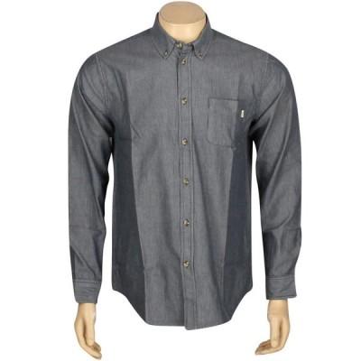 オベイ Obey メンズ シャツ トップス Wise Man Long Sleeve Shirt blue/indigo