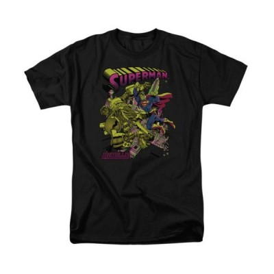 Tシャツ DCコミックス Superman Vs Metallo DC Comics Licensed Adult T Shirt