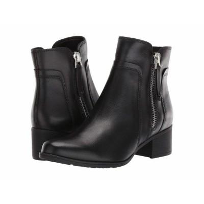 ナチュライザー ブーツ&レインブーツ シューズ レディース Dorrit Black Waterproof Leather