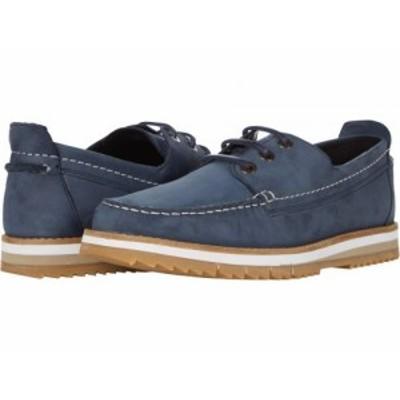 Clarks クラークス メンズ 男性用 シューズ 靴 スニーカー 運動靴 Durston Lace Navy Nubuck【送料無料】